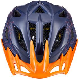 KED Street MIPS Helmet Kids blue/orange
